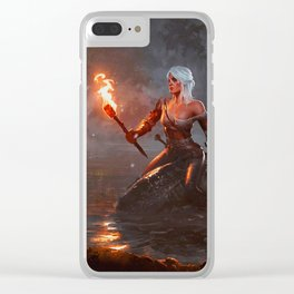 The Witcher Clear iPhone Case