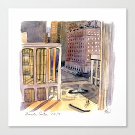 Lincoln Center Bathed in Light Canvas Print