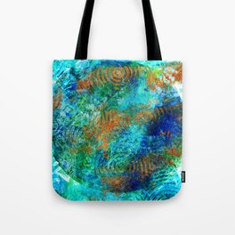 Copper beneath the waves Tote Bag