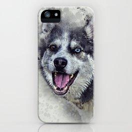 Beautiful husky iPhone Case
