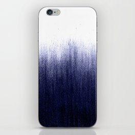 Indigo Ombre iPhone Skin