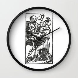 Death dancer Wall Clock