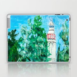 Lighthouse in Mersrags, Latvia Laptop & iPad Skin
