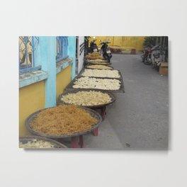 Noodles Hoi An Metal Print