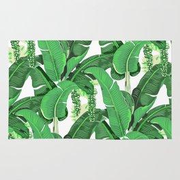 banana leaves brazilliance Rug