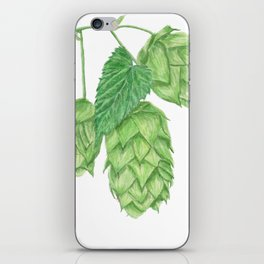 Beer Hop Flowers iPhone Skin