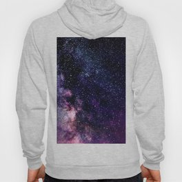 The Milky Way Midnight Blue & Purple Hoody