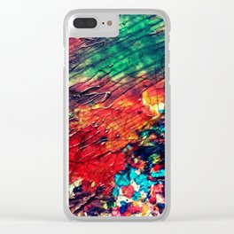Displacement Clear iPhone Case