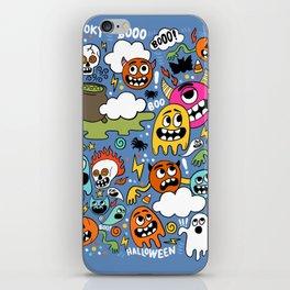 Booo! iPhone Skin