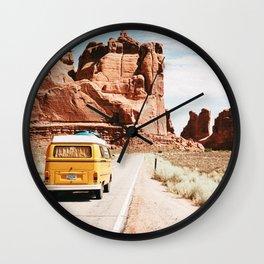 Van Life / Utah Wall Clock