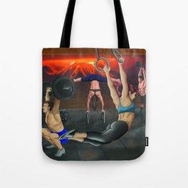 Samurai Crossfit Tote Bag