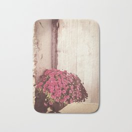 Vintage Bouquet Bath Mat