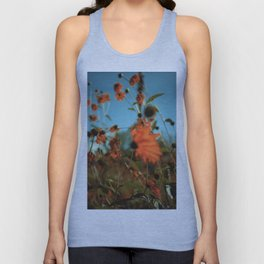Autumn Waving with the Breeze Unisex Tank Top