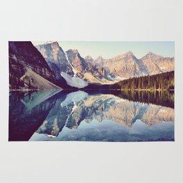 Moraine Lake Reflection Rug