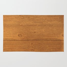The Cabin Vintage Wood Grain Design Rug