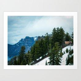 Crater lake-OR Art Print