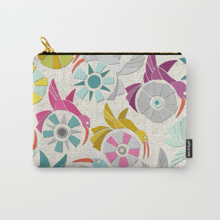 paper sunbirds pearl Carry-All Pouch
