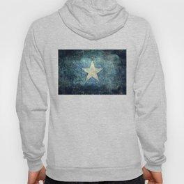 Flag of Somalia - Super Grunge version Hoody