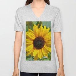Sunflower nature photo Unisex V-Neck