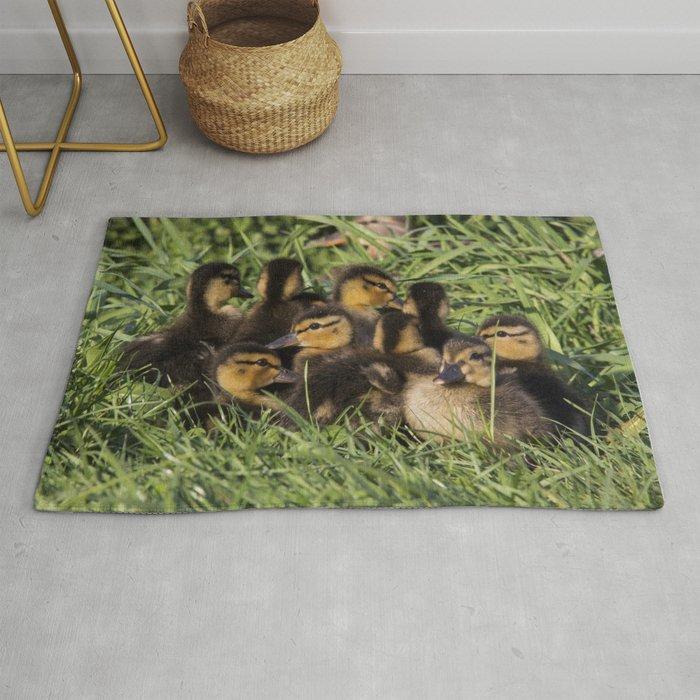 Ducklings Rug