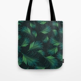 Tropical Night Palms Pattern #1 #tropical #decor #art #society6 Tote Bag