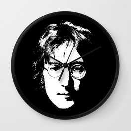 John portrait Wall Clock