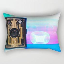 Vintage Art Deco Camera Rectangular Pillow