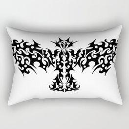 Tribal Dragon Bird Tattoo Rectangular Pillow