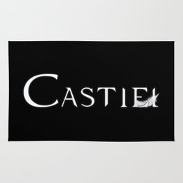 Castiel with Feather White Rug