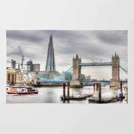 River Thames View Rug