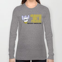 Urbancowfolks Studio Kitty Mustard Logo Long Sleeve T-shirt