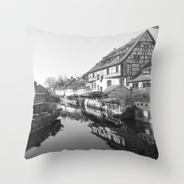 Fantasy of Alsace Throw Pillow
