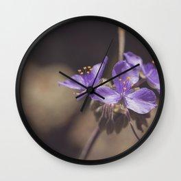 Texas Wildflower II Wall Clock