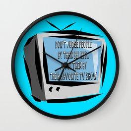 Judge Me Wall Clock