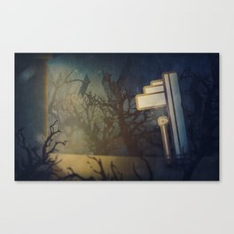 The Crypt Canvas Print