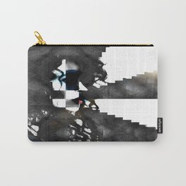 Erika in Checkered Stairwells. Carry-All Pouch