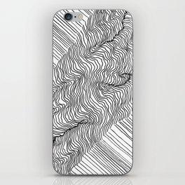 Rift Lines iPhone Skin