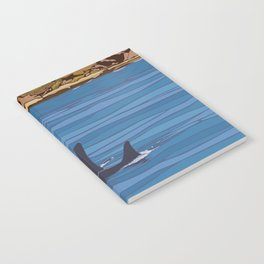 Vintage Poster - San Juan Islands National Monument, Washington (2015) Notebook