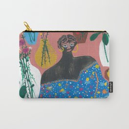 Flower shop strolling Carry-All Pouch
