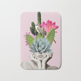 Cactus Lady Bath Mat