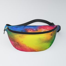 Intergalactic Rainbow Fanny Pack