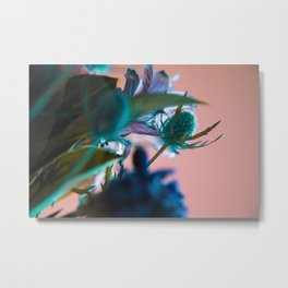 Flowers/Amnesia Metal Print