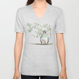 Wood Pigeon Unisex V-Neck