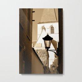A shortcut to church Metal Print