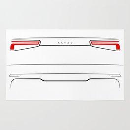 A3 8V 2016 Back White Rug