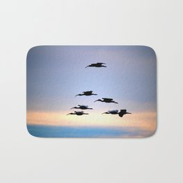 Evening Flight Bath Mat