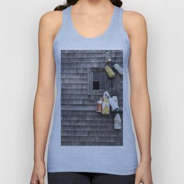 Rustic Window Unisex Tank Top
