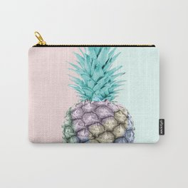 Pineapple with pastel background Carry-All Pouch