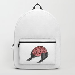 Brain with wheels Backpack