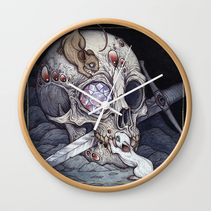 Treasure of the Devil's Bayou Wall Clock